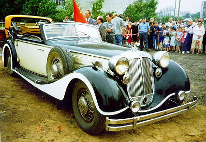 Horch-853 1935 года.